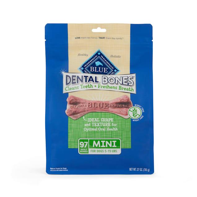 Blue Buffalo Blue Dental Bones Mini Size Dog Treats, 27 oz. - Carousel image #1