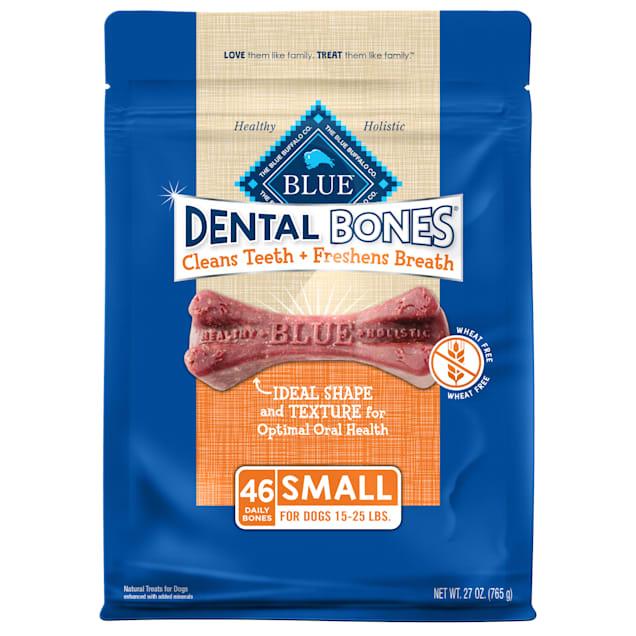Blue Buffalo Blue Dental Bones Small Size Dog Treats, 27 oz. - Carousel image #1