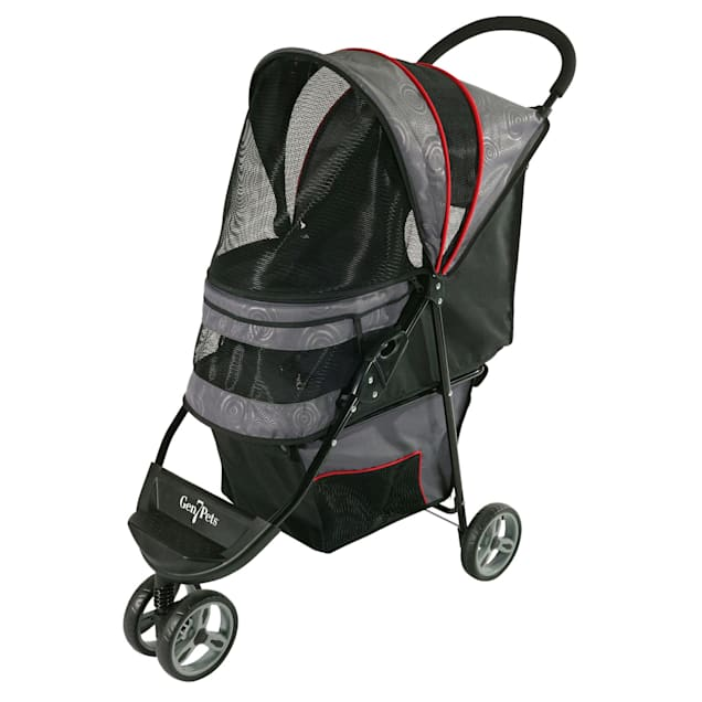 "Gen7Pets Regal Pet Stroller in Gray, 38"" L X 17"" W X 38"" H - Carousel image #1"