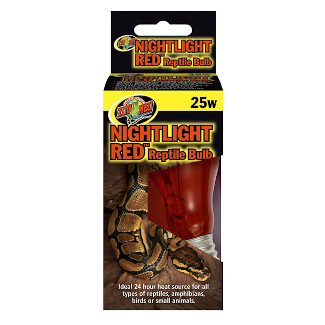 Zoo Med Nightlight Red Bulb for Reptiles, 25 Watts - Carousel image #1