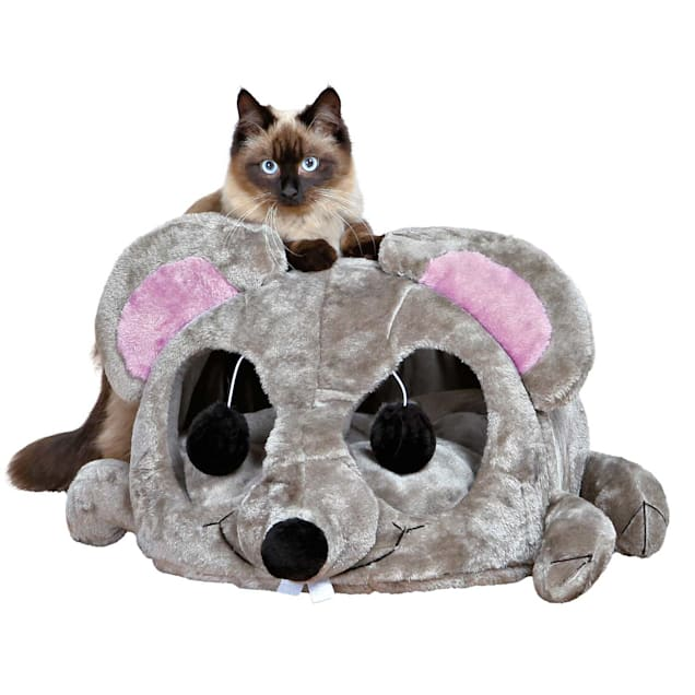 """TRIXIE Lukas Cuddly Cat Cave, 12.75"""" H - Carousel image #1"""