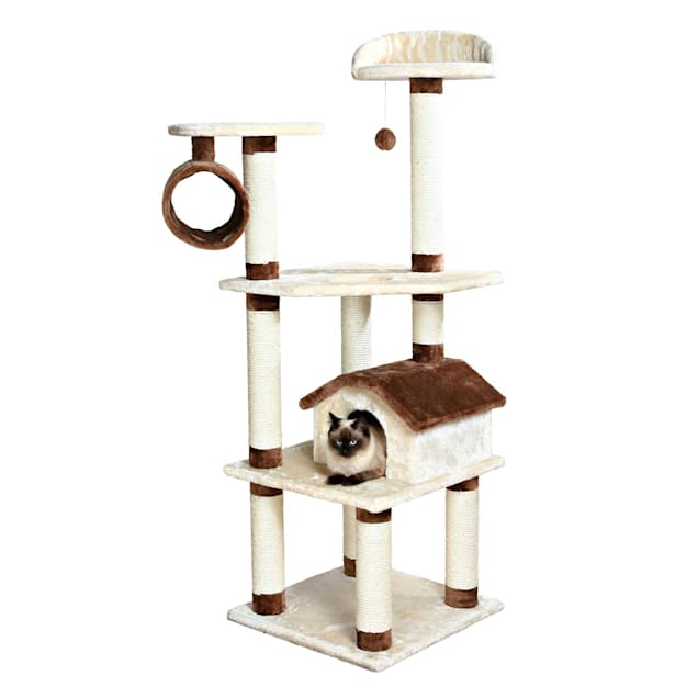 "Trixie Marissa Cat Tree Playground, 64.5"" H - Carousel image #1"