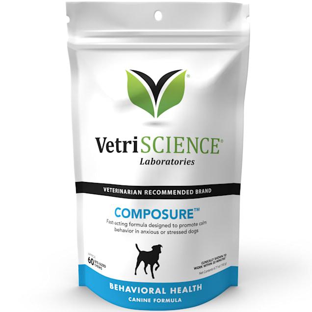 VetriScience Laboratories Composure Canine Bite-Sized Chews, 60 count. - Carousel image #1