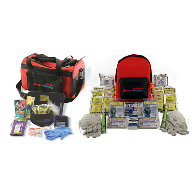Ready America Grab 'n Go Cat and Two Person 3 Day Emergency Kit - Carousel image #1