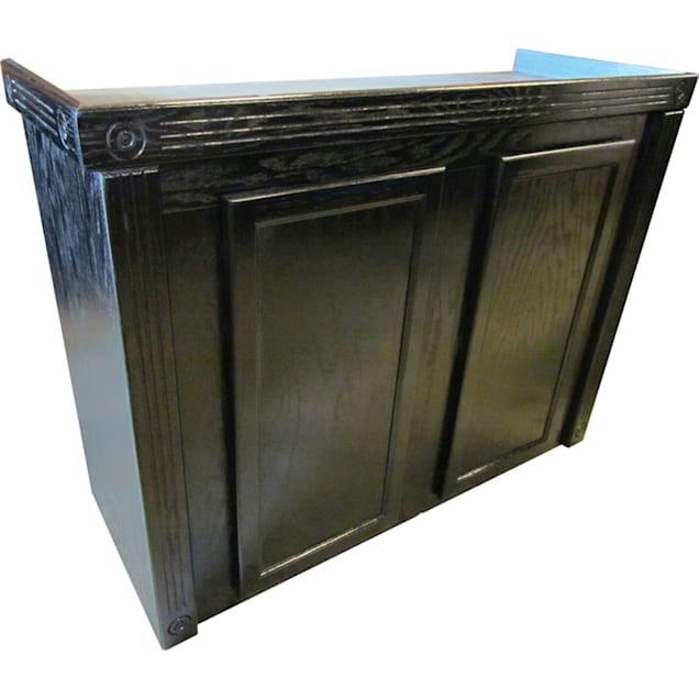 "R&J Enterprises 48x18 Black Oak Empire 36"" Tall Reef Cabinet - for 75, 90, and 110 Glass Aquariums - Carousel image #1"