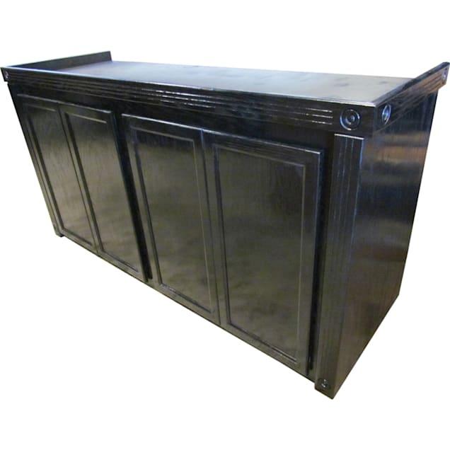 R&J Enterprises 72x18 Black Empire Reef Cabinet - for 125 and 150 Gallon Acrylic Aquariums - Carousel image #1