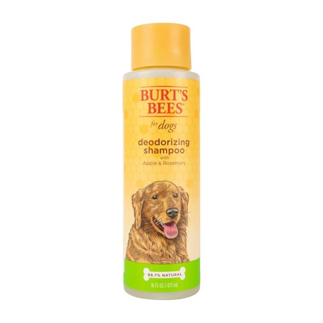 Burt's Bees Natural Apple & Rosemary Deodorizing Dog Shampoo, 16 fl. oz. - Carousel image #1