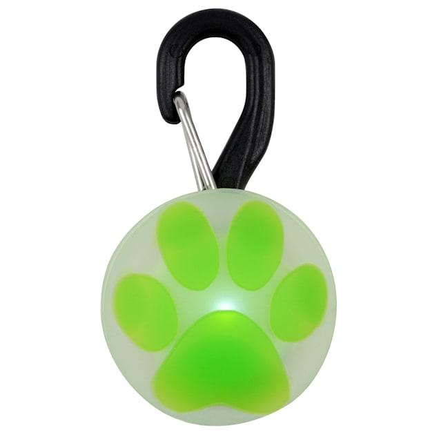 "Nite Ize Innovation LED Lime Paw PetLit, 1.8"" L X 1"" W - Carousel image #1"