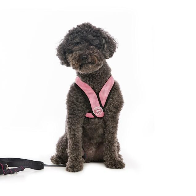 Gooby Choke Free Comfort X Soft Harness, Pink, Large - Carousel image #1