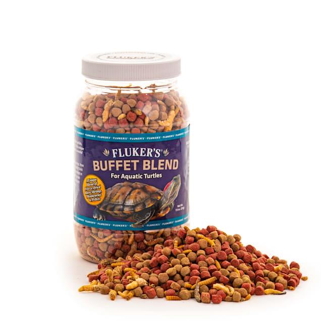 Fluker's Aquatic Turtle Buffet Blend Food, 7.5 oz. - Carousel image #1