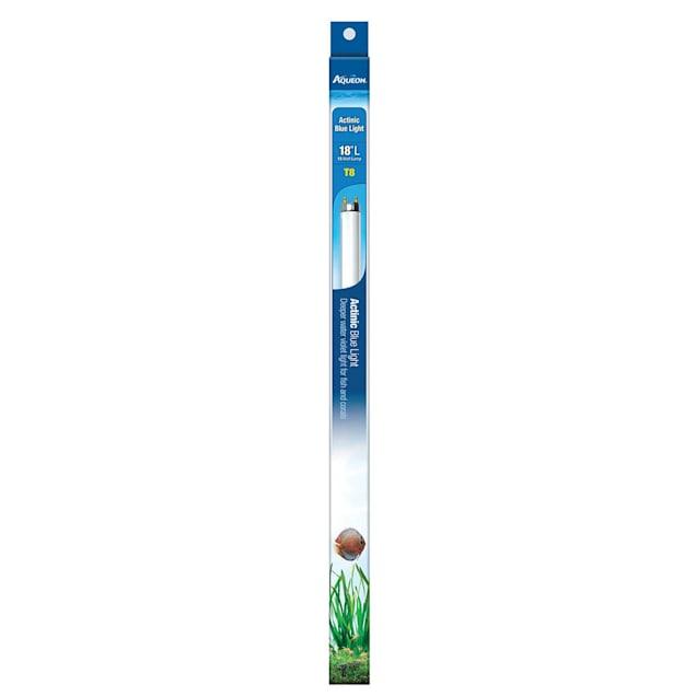 """Aqueon T8 Actinic Blue Light Fluorescent Aquarium Lamp, 17w, 24"""" L - Carousel image #1"""