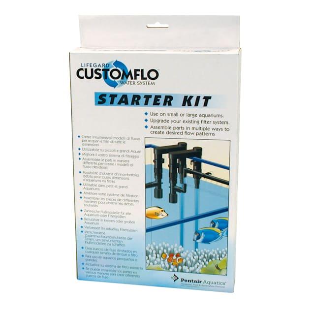 Lifegard Aquatics Customflo Water System Starter Kit - Carousel image #1