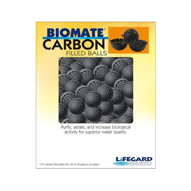 "Lifegard Aquatics Bio-Mate Carbon Refillable Media Balls, 1.5"" Diameter - Carousel image #1"