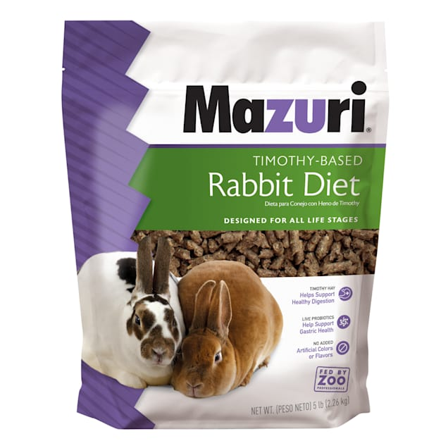 Mazuri Timothy-Based Rabbit Food, 5 lbs. - Carousel image #1