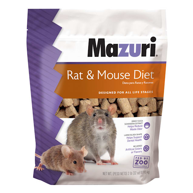 Mazuri Rat & Mouse Food, 2 lbs. - Carousel image #1