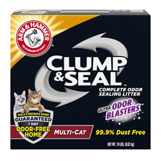 Arm & Hammer Clump & Seal Multi-Cat Odor Sealing Cat Litter, 19 lbs. - Carousel image #1