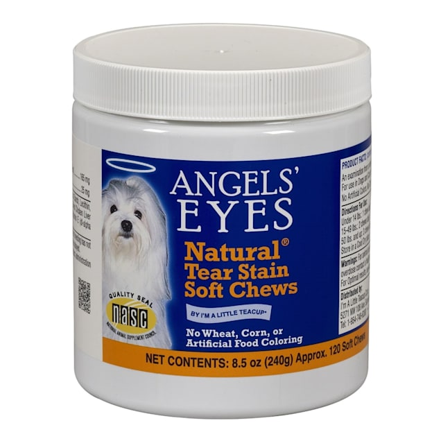 Angels' Eyes Natural Soft Chew Chicken Flavor for Dogs, Count of 120 - Carousel image #1