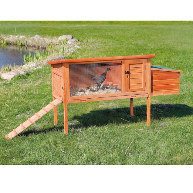 """Trixie Natura Hinged Roof Chicken Coop, 61"""" L X 24.75"""" W X 36"""" H - Carousel image #1"""