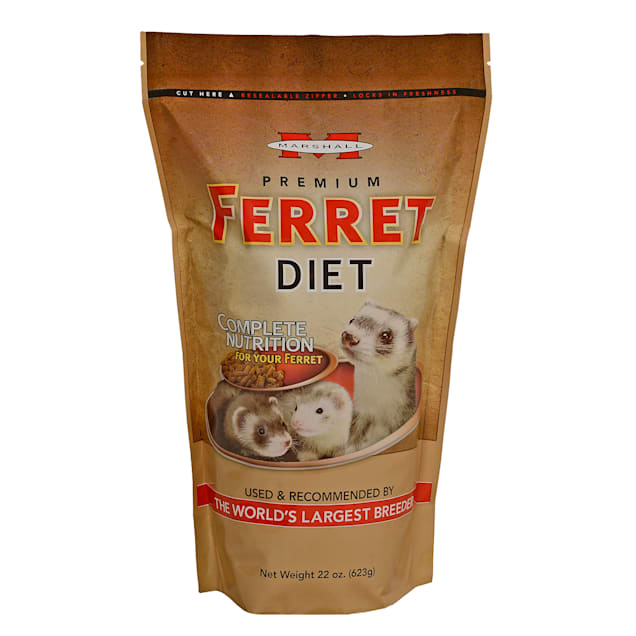 Marshall Pet Products Premium Ferret Diet, 22 oz. - Carousel image #1