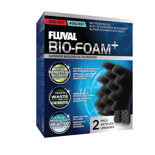 Fluval Bio-Foam Inserts, for 304-306 & 404-406 canister filters - Carousel image #1