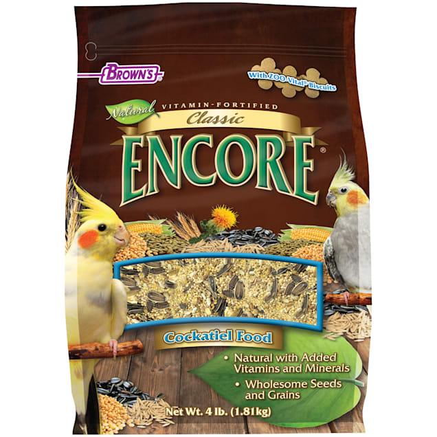 Brown's Encore Classic Cockatiel Food, 4 lbs. - Carousel image #1