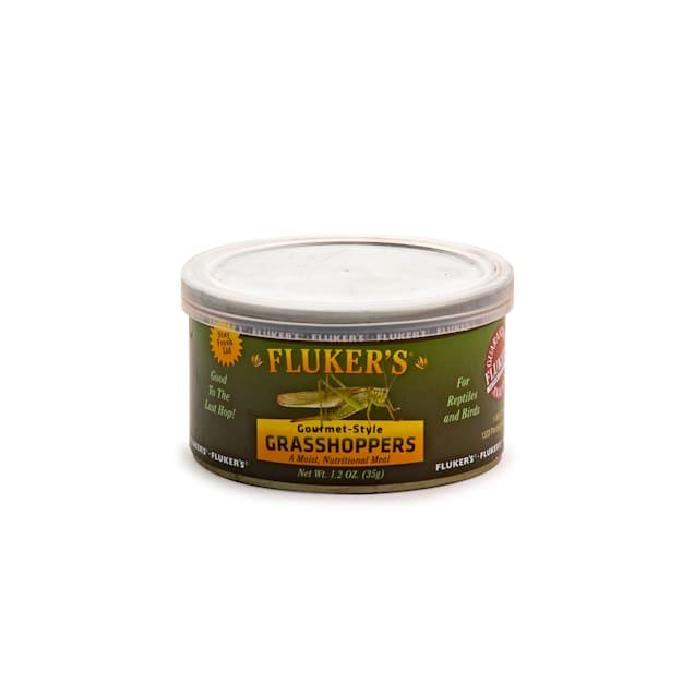 Fluker's Gourmet Style Grasshopper Reptile Food, 1.2 oz. - Carousel image #1