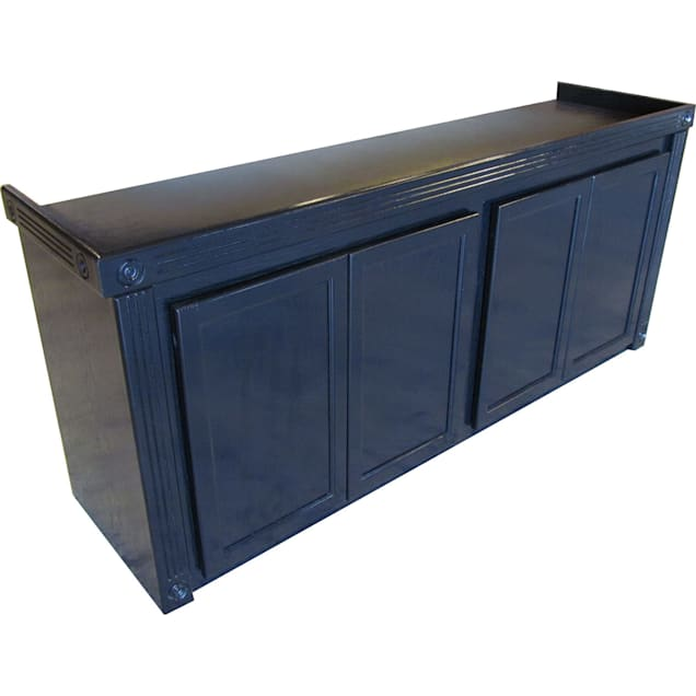 R&J Enterprises 72x24 Black Oak Empire Cabinet - for 180 and 220 Gallon Glass Aquariums - Carousel image #1