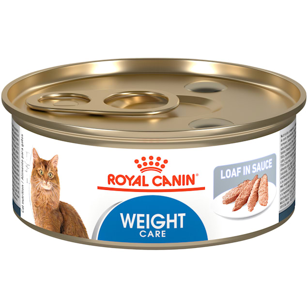 Royal Canin Feline Weight Care Loaf in Sauce Canned Adult Wet Cat Food, 5.8 oz., Case of 24 - Carousel image #1