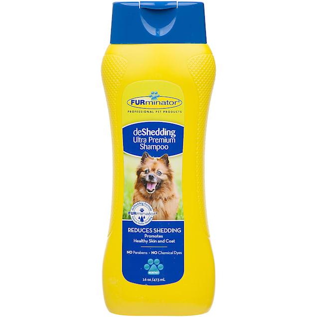 FURminator deShedding Ultra Premium Dog Shampoo, 16 oz. - Carousel image #1