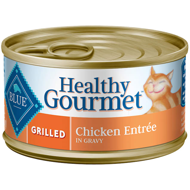 Blue Buffalo Blue Healthy Gourmet Grilled Chicken Entree Wet Cat Food, 3 oz., Case of 24 - Carousel image #1
