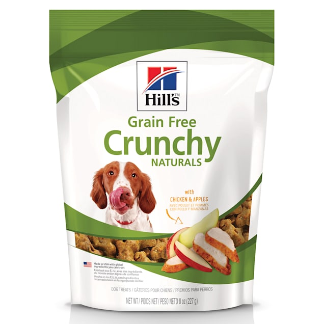 Hill's Grain Free Crunchy Naturals with Chicken & Apples Dog Treats, 8 oz. - Carousel image #1