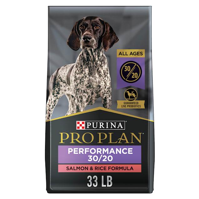Purina Pro Plan 30/20 Salmon & Rice Formula Dry Dog Food, 33 lbs. - Carousel image #1