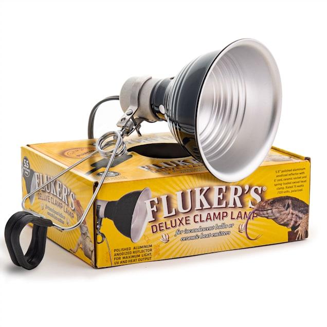 Fluker's Turtle Clamp Lamp - Carousel image #1