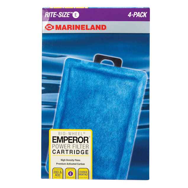 Marineland Emperor Ready-To-Use Filter Cartridges, Pack of 4 - Carousel image #1