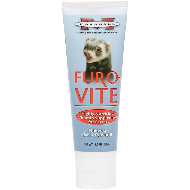 Marshall Pet Products Furo-vite Highly Nutritious Ferret Vitamin Supplement, 3.5 oz. - Carousel image #1