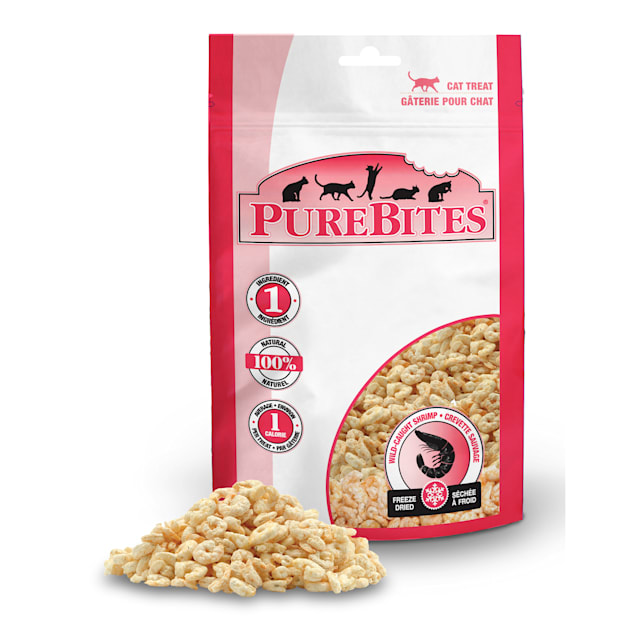 PureBites Shrimp 0.53oz/ 15g- Value Size Cat Treats - Carousel image #1