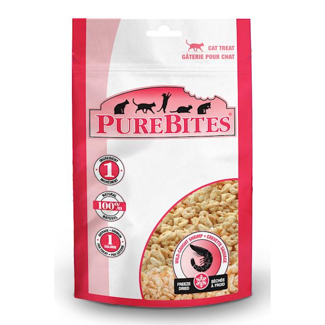 PureBites Freeze Dried Shrimp Cat Treats, 0.53 oz. - Carousel image #1
