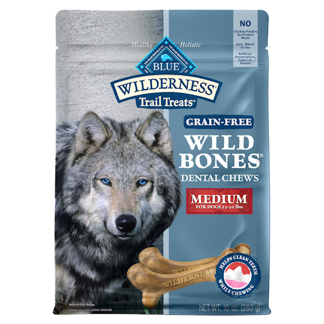 Blue Buffalo Blue Wilderness Wild Bones Medium Dog Chews, 10 oz. - Carousel image #1