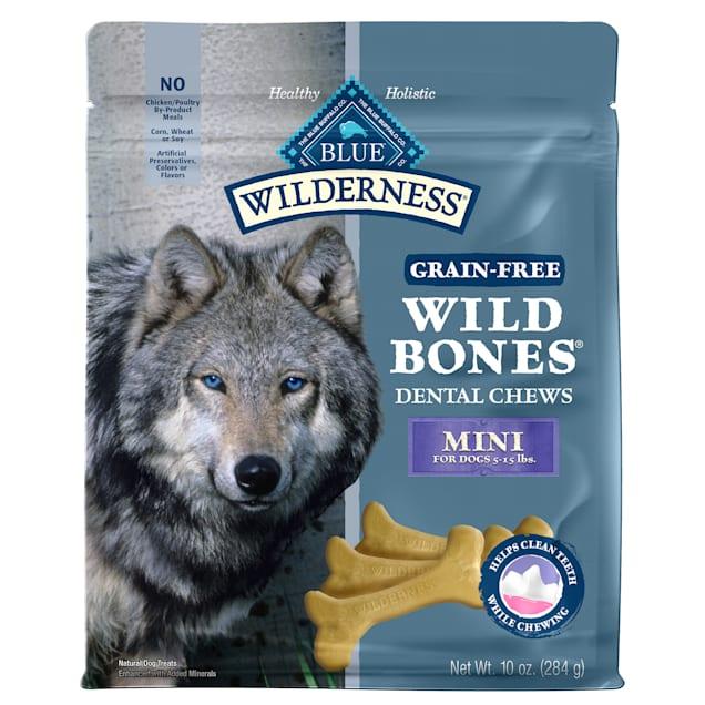 Blue Buffalo Blue Wilderness Wild Bones Mini Dog Chews, 10 oz. - Carousel image #1