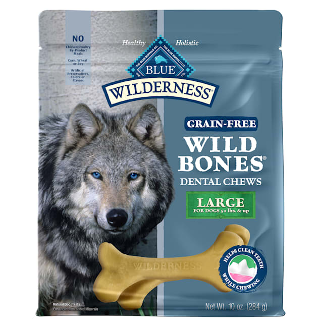 Blue Buffalo Blue Wilderness Wild Bones Dog Chews, 10 oz. - Carousel image #1