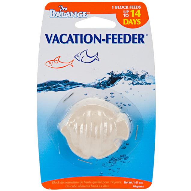 Penn Plax Fish Shape Vacation Fish Feeder, 2.2 oz. - Carousel image #1