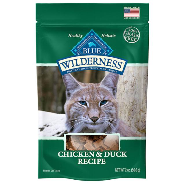 Blue Buffalo Blue Wilderness Chicken & Duck Cat Treats, 2 oz. - Carousel image #1