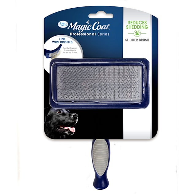 "Four Paws Magic Coat Dog Medium Slicker Brush, 5"" L X 7"" W X 3.5"" H - Carousel image #1"