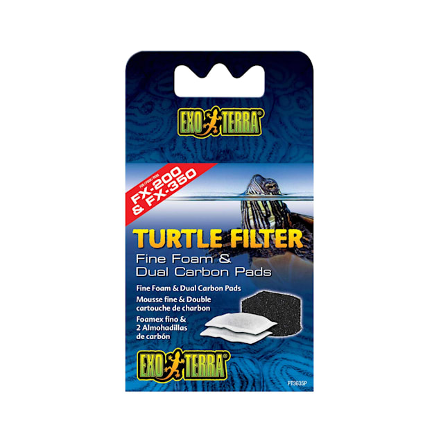 Exo-Terra Turtle Filter Foam & Carbon Pads - Carousel image #1