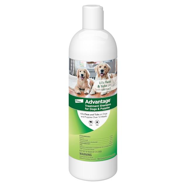 Advantage Flea and Tick Treatment Shampoo for Dogs, 24 fl. oz. - Carousel image #1