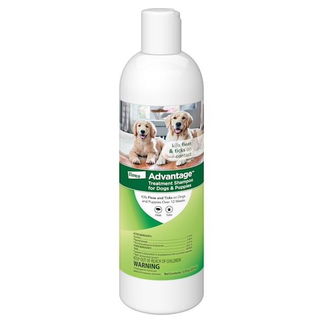 Advantage Flea & Tick Treatment Shampoo for Dogs & Puppies, 12 fl. oz. - Carousel image #1