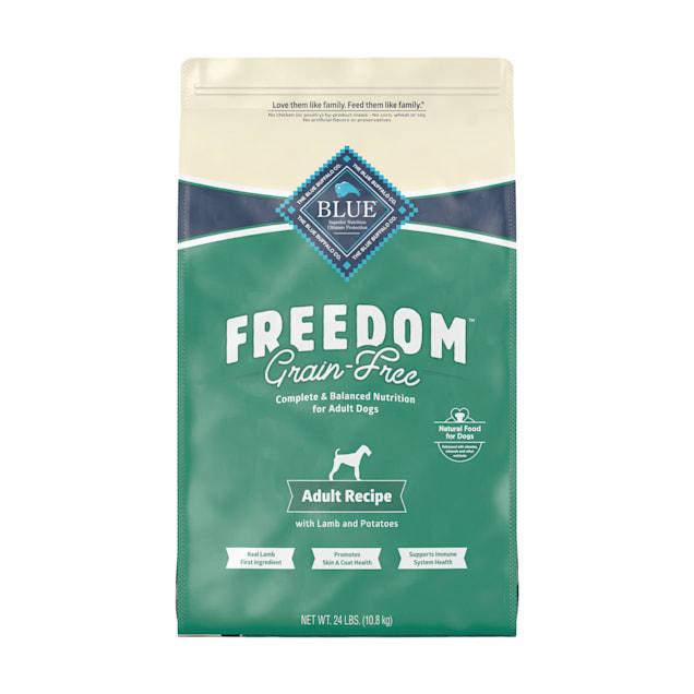 Blue Buffalo Blue Freedom Grain-Free Adult Lamb Recipe Dry Dog Food, 24 lbs. - Carousel image #1