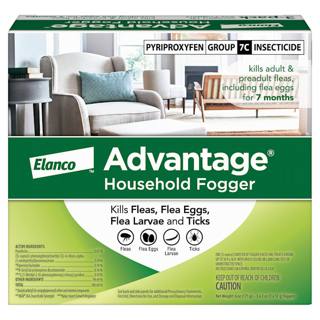 Advantage Household Fogger, Pack of 3 - 2 oz. cans - Carousel image #1