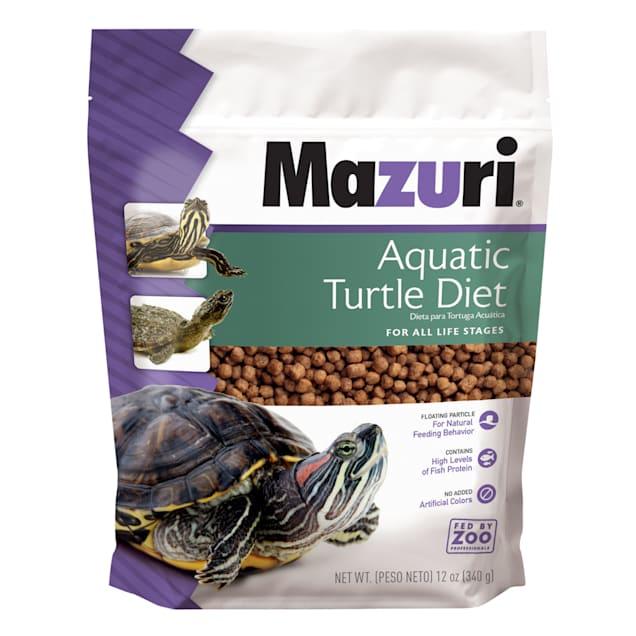 Mazuri Aquatic Turtle Diet, 12 oz. - Carousel image #1