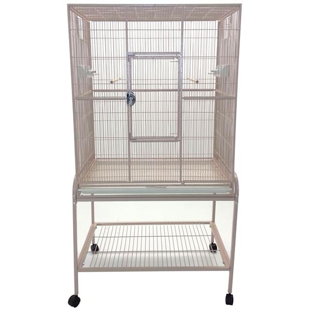 A&E Cage Company Flight Bird Cage in Sandstone - Carousel image #1